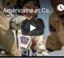 Américaine et Canadien reviennent conquis de leur première dans l'espace