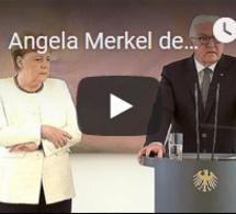 Angela Merkel de nouveau prise de tremblements