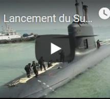 Lancement du Suffren, nouveau sous-marin nucléaire de la marine française