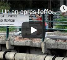 Un an après l'effondremnt du pont de Gênes, l'Italie commémore les victimes