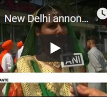 """New Delhi annonce une levée """"progressive"""" des restrictions au Cachemire"""