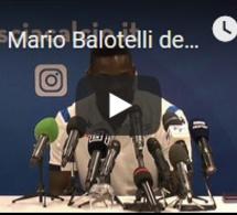 Mario Balotelli de retour chez lui, à Brescia