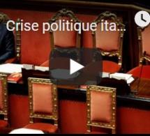Crise politique italienne : jour J pour la coalition gouvernementale
