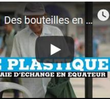 Des bouteilles en plastique contre des tickets de bus gratuits en Équateur