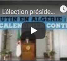 L'élection présidentielle aura lieu le 12 décembre en Algérie, conformément aux vœux de l'armée