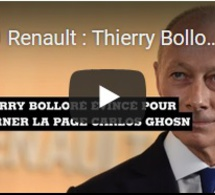 Renault : Thierry Bolloré sur la sellette pour tourner la page Carlos Ghosn