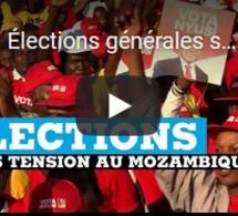 Élections générales sous haute tension au Mozambique
