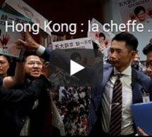 Hong Kong : la cheffe de l'exécutif empêchée de s'exprimer au Parlement