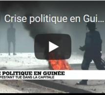 Crise politique en Guinée : un manifestant tué à Conakry
