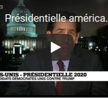 Présidentielle américaine : les douze candidats démocrates unis contre Donald Trump