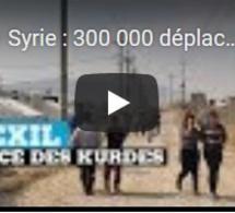 Syrie : 300 000 déplacés depuis le début de l'offensive turque
