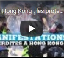 Hong Kong : les protestataires bravent l'interdiction de manifester