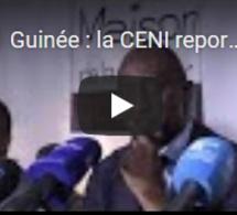 Guinée : la CENI reporte à nouveau les élections législatives