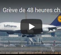 Grève de 48 heures chez Lufthansa