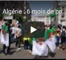 Algérie : 6 mois de prison pour 28 manifestants ayant brandi le drapeau berbère