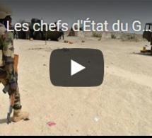 Les chefs d'État du G5 Sahel appellent au soutien international après le massacre d'Inates