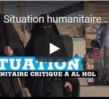 Situation humanitaire critique dans le camp d'Al Hol en Syrie