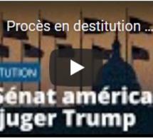 Procès en destitution : le Sénat américain va juger Donald Trump