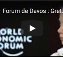 """Forum de Davos : Greta Thunberg affirme que """"rien n'a été fait"""" pour le climat"""