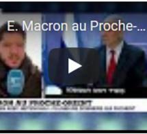 E. Macron au Proche-Orient : rencontre avec les chefs d'État israélien et palestinien