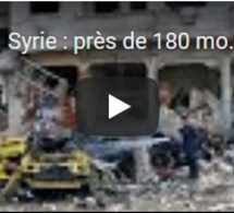 Syrie : près de 180 morts dans une série d'attentats à Homs et à Damas revendiqués par l'EI