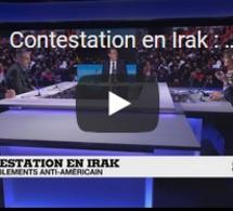 Contestation en Irak : rassemblements anti-américain