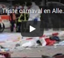 Triste carnaval en Allemagne