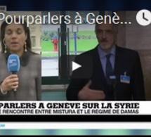 Pourparlers à Genève sur la Syrie : Début des discussions, accord sur un envoi humanitaire