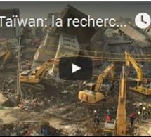 Taïwan: la recherche des survivants sous les décombres continue