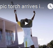 La flamme olympique est arrivée au Brésil