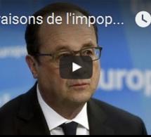 Les raisons de l'impopularité de François Hollande