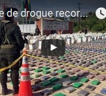 Saisie de drogue record en Colombie