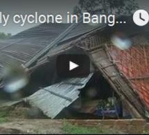 Cyclone mortel au Bangladesh
