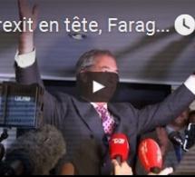 """Le Brexit en tête, Farage parle de """"Jour de l'Indépendance"""""""