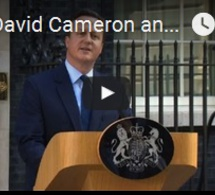 GB: David Cameron annonce son intention de démissionner