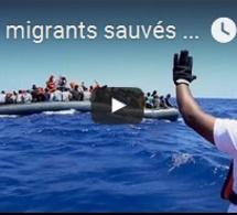 5000 migrants sauvés en mer... En un seul jour