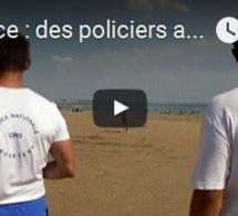 France : des policiers armés sur les plages