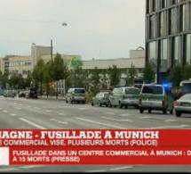 Urgent - Fusillade à Munich 9 morts et plusieurs blessés