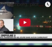 """André Borschberg, pilote de Solar Impulse 2 : """"Une expérience incroyable"""""""
