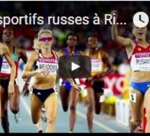 Les sportifs russes à Rio malgré tout