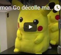 Pokemon Go décolle mais l'action de Nintendo dévisse