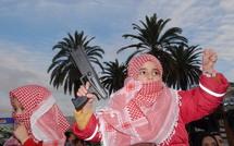 Carnage perpétré à Gaza par l'armée israélienne : Les habitants de Marrakech occupent les rues