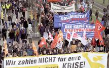 """Manifestations à Londres, Berlin et Paris en vue du G20 : """"Taxez les riches, faites-les payer"""""""