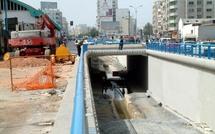 Les travaux de réalisation du passage souterrain du Boulevard  Brahim Roudani : Le tunnel sans fin
