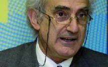 """Le Pr. Bernabe Lopez Garcia, auteur du livre  """"Elections au Maroc de 1960 à nos jours"""""""