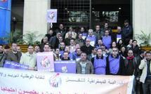 Débrayage et sit-in à Ittisalat Al  Maghrib