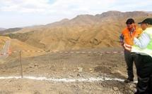 Les travaux d'aménagement de la RN9 reliant Marrakech à Ouarzazate ont atteint 40%