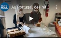 Au Portugal, des réfugiés solidaires