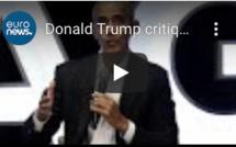 Donald Trump critiqué par Barack Obama et des élus démocrates