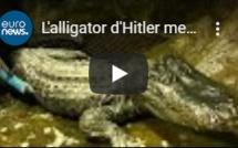 L'alligator d'Hitler meurt à Moscou à l'âge de 84 ans